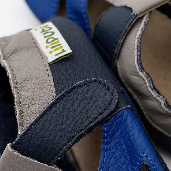 Sandale cu talpă moale Liliputi® - Atacama Navy 1