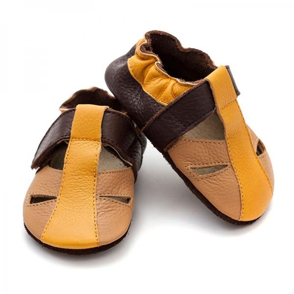 Sandale cu talpă moale Liliputi® - Sand 0