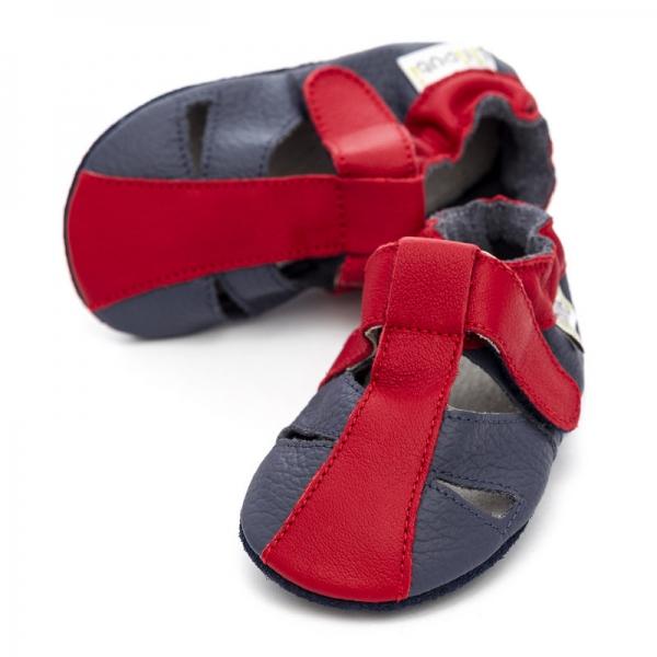 Sandale cu talpă moale Liliputi® - Flame 0