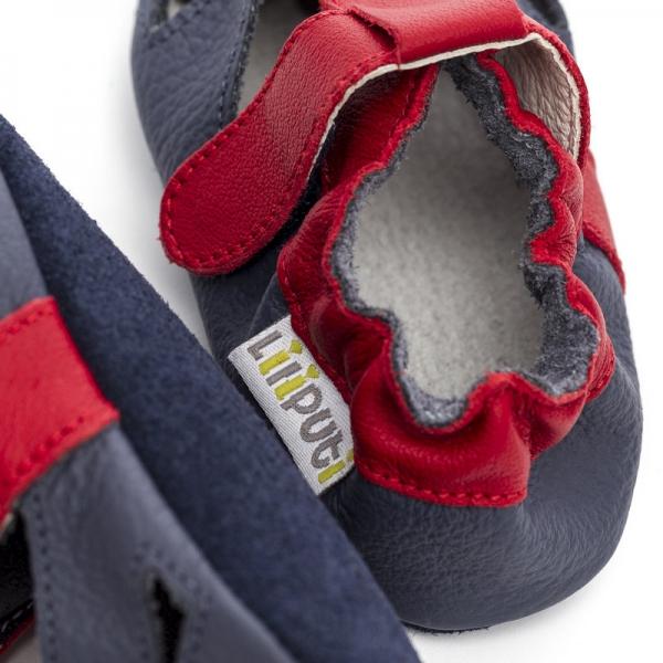 Sandale cu talpă moale Liliputi® - Flame 1