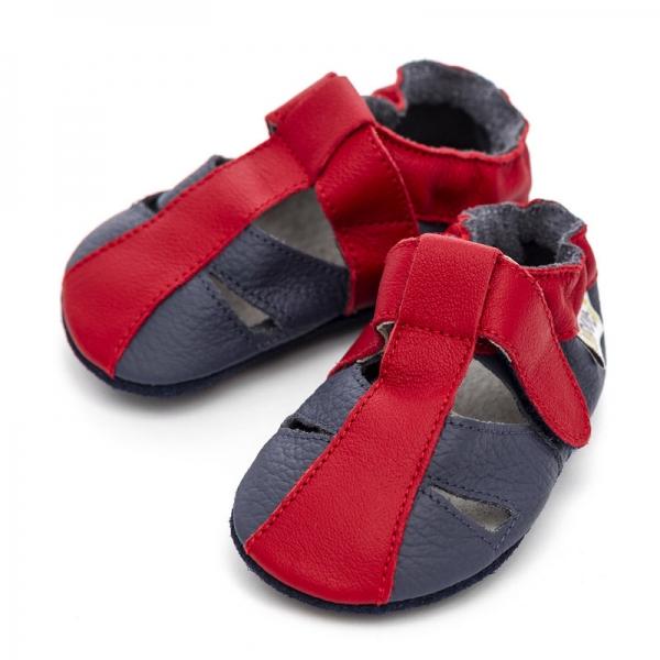 Sandale cu talpă moale Liliputi® - Flame 2