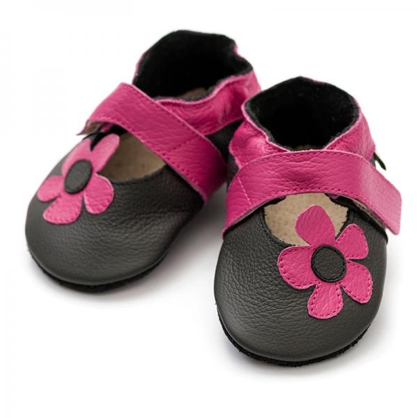 Sandale cu talpă moale Liliputi® - Kalahari Black 2