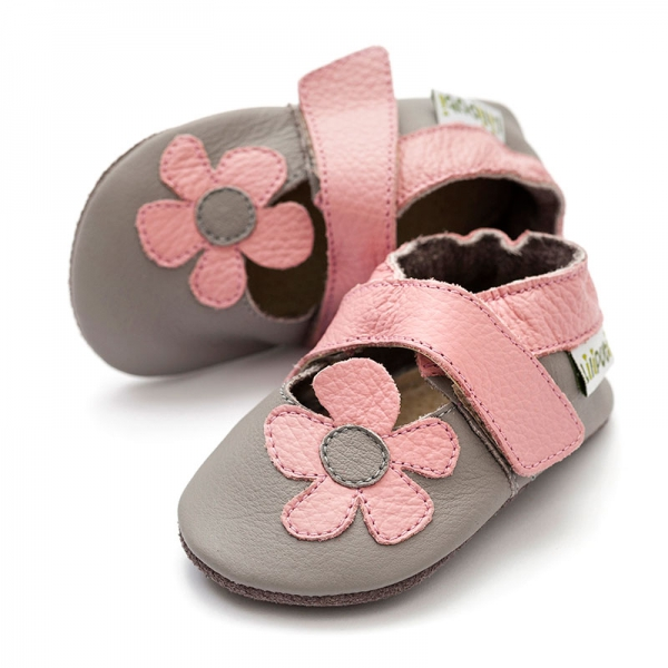 Sandale cu talpă moale Liliputi® - Kalahari Grey 0