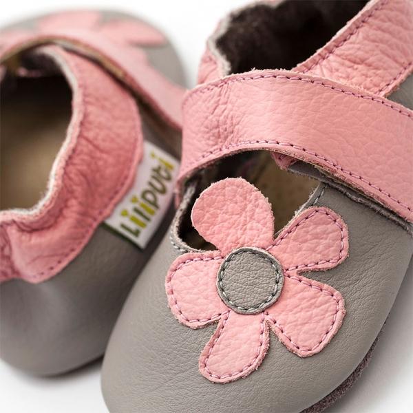 Sandale cu talpă moale Liliputi® - Kalahari Grey 1
