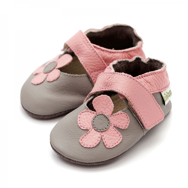 Sandale cu talpă moale Liliputi® - Kalahari Grey 2