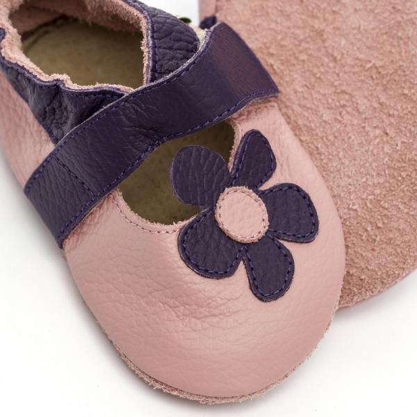 Sandale cu talpă moale Liliputi® - Lilac 1