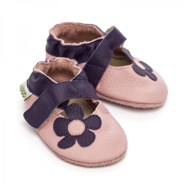 Sandale cu talpă moale Liliputi® - Lilac 2