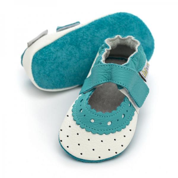 Sandale cu talpă moale Liliputi® - Lily 0