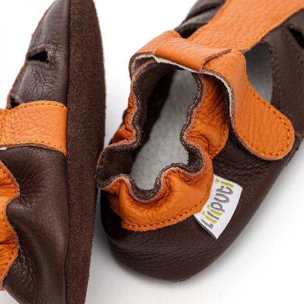 Sandale cu talpă moale Liliputi® - Mars 1