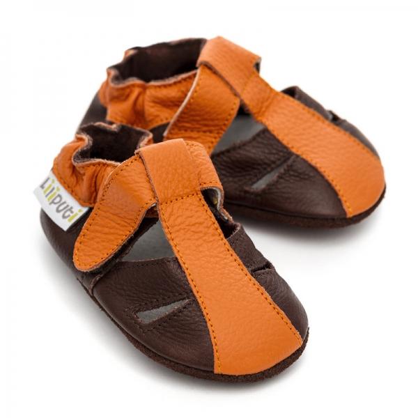 Sandale cu talpă moale Liliputi® - Mars 2