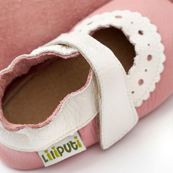Sandale cu talpă moale Liliputi® - Sahara Pink 1