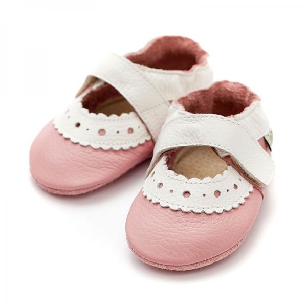 Sandale cu talpă moale Liliputi® - Sahara Pink 2