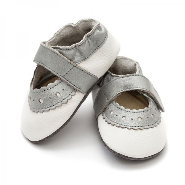 Sandale cu talpă moale Liliputi® - Sahara White 0