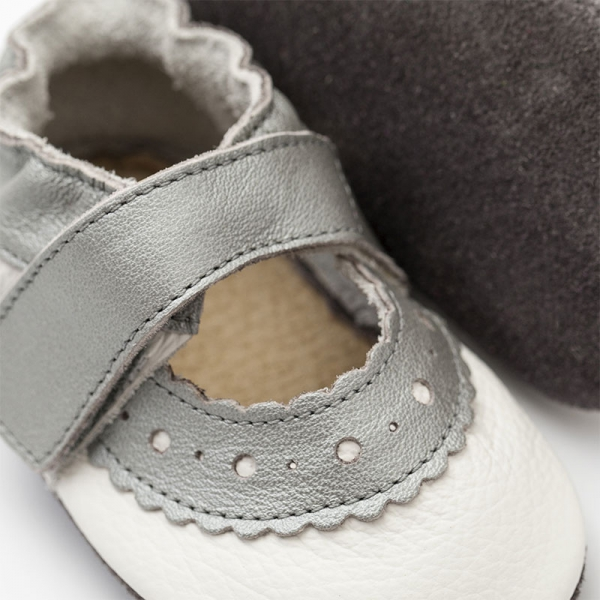 Sandale cu talpă moale Liliputi® - Sahara White 1