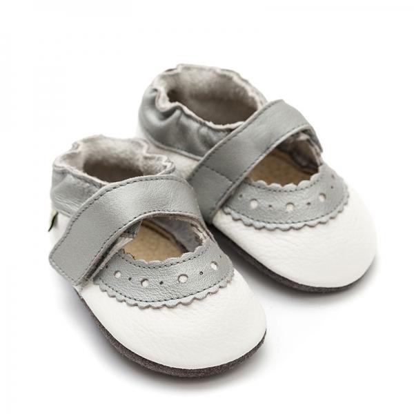 Sandale cu talpă moale Liliputi® - Sahara White 2