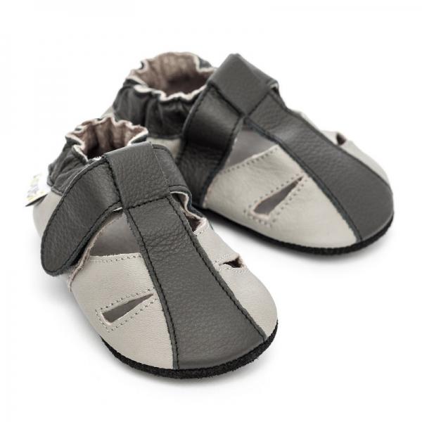 Sandale cu talpă moale Liliputi® - Stone 2