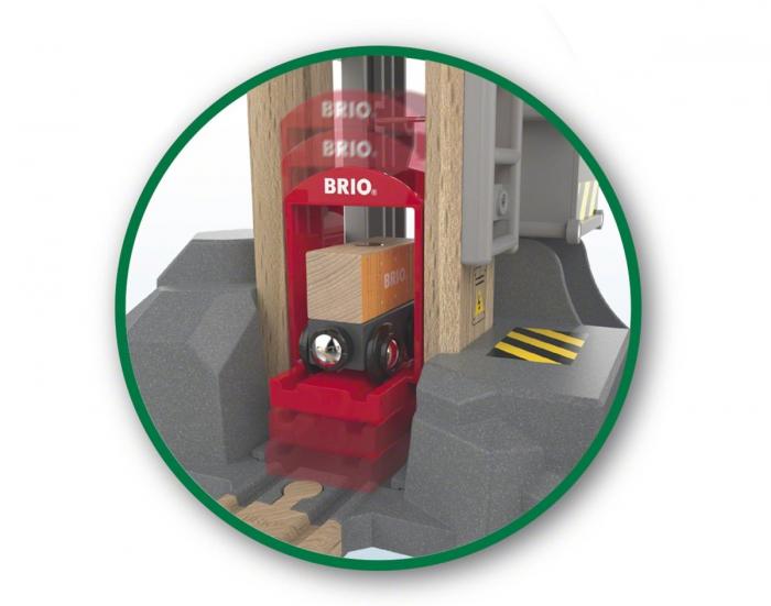Set de șantier pentru încărcări și descărcări, Brio 33887 5