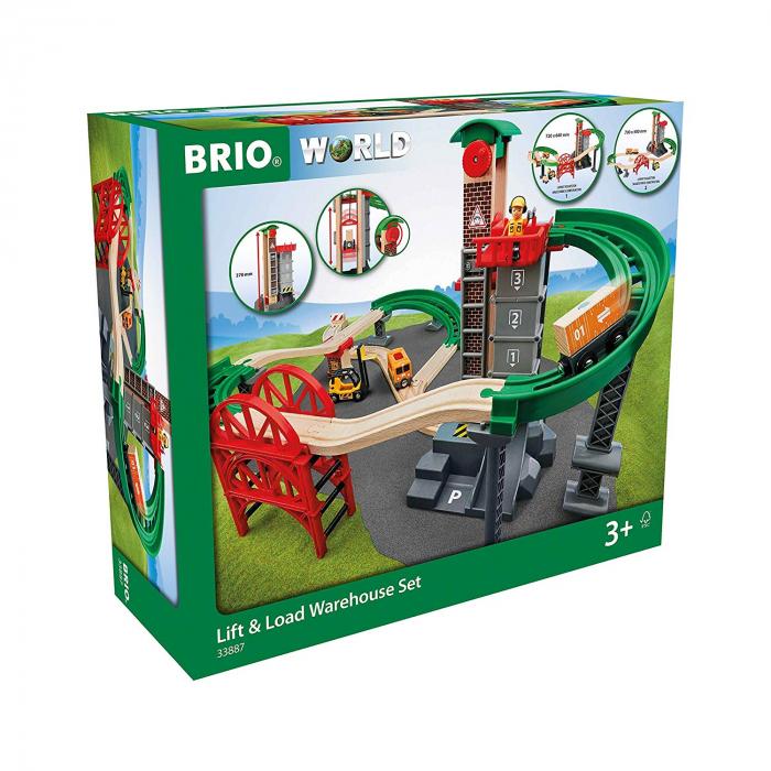 Set de șantier pentru încărcări și descărcări, Brio 33887 1