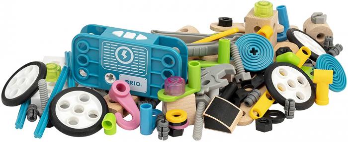 Set de construit din lemn - Motorizat, Brio 34591 5