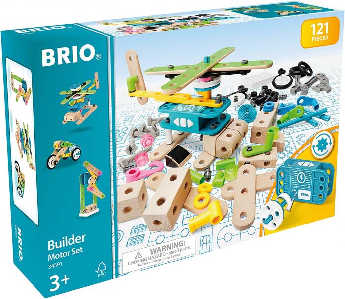 Set de construit din lemn - Motorizat, Brio 34591 7