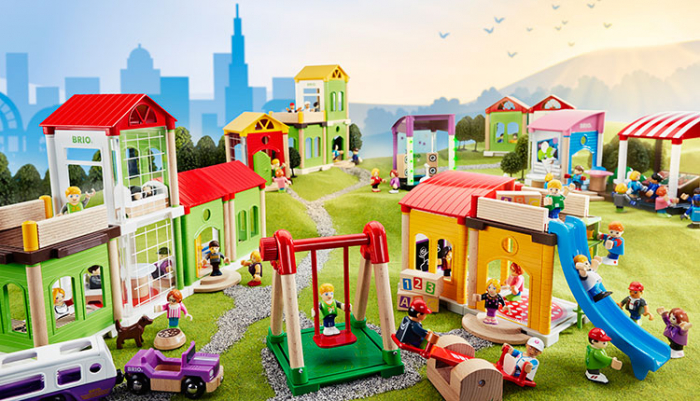 Set de tren deluxe BRIO World, 33870 20