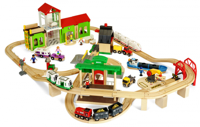 Set de tren deluxe BRIO World, 33870 0