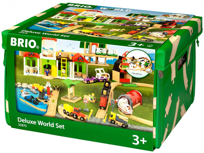 Set de tren deluxe BRIO World, 33870 1