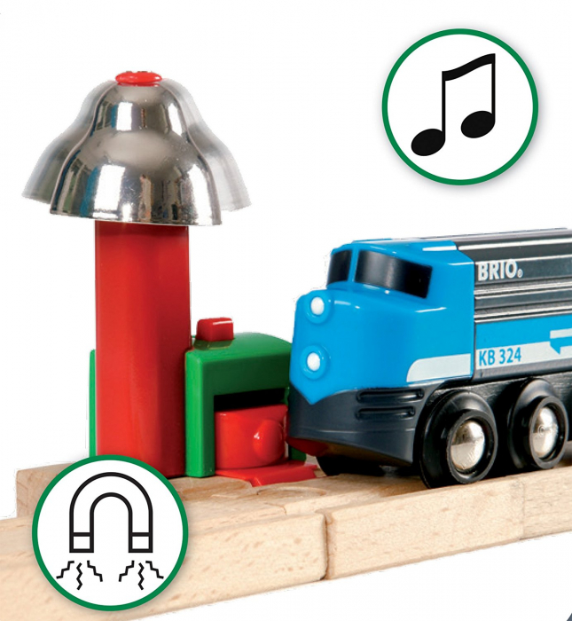 Set de tren deluxe BRIO World, 33870 6