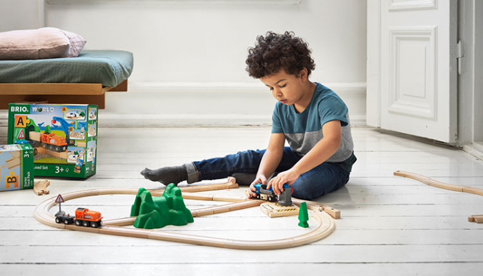 Set de tren deluxe BRIO World, 33870 10