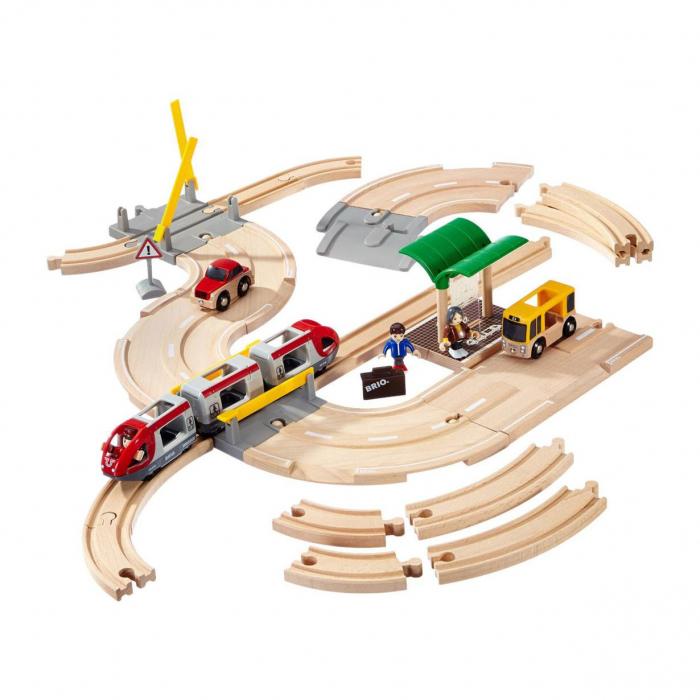 Set de tren personal și șosea, Brio 33209 [0]