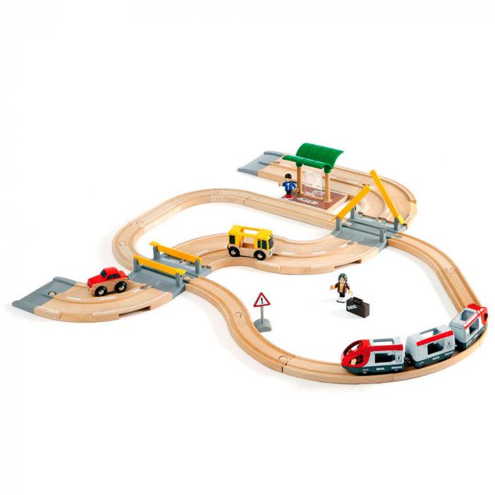 Set de tren personal și șosea, Brio 33209 [2]