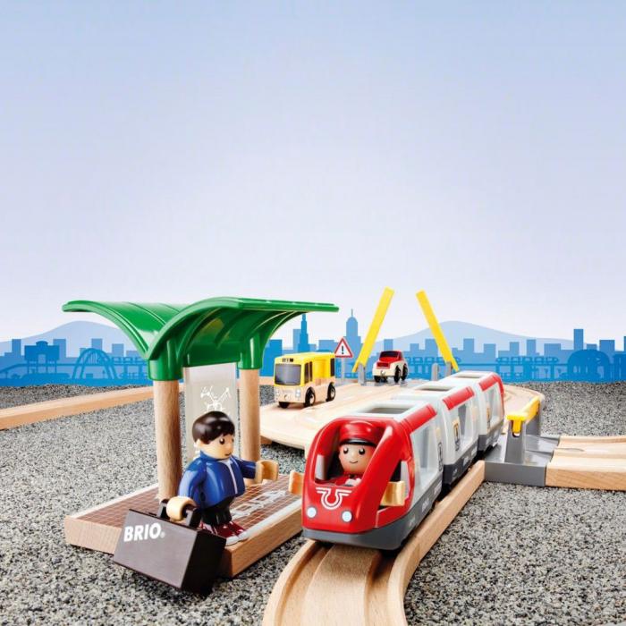 Set de tren personal și șosea, Brio 33209 [10]