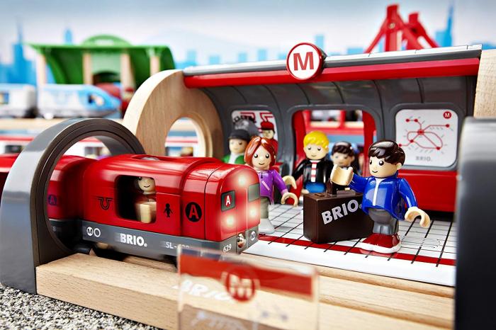 Set de tren tip metrou, Brio 33513 7