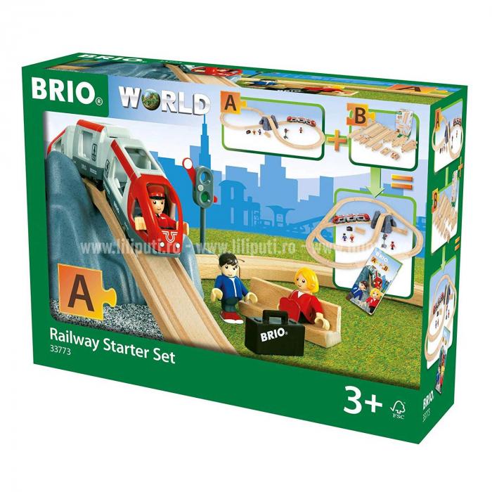 Set starter – Primul meu trenuleț, Brio 33773 14