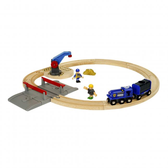 Set transport poliție, Brio 33812 0
