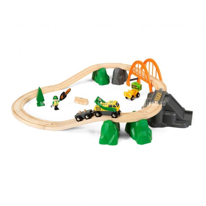 Set trenuleț forestier, Brio 33789 2