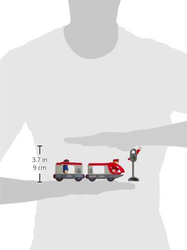 Set trenuleț pasageri rotund, Brio 33511 6