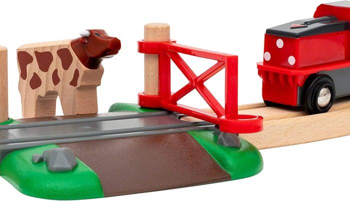 Set trenuleț animale fermă, Brio 33984 6