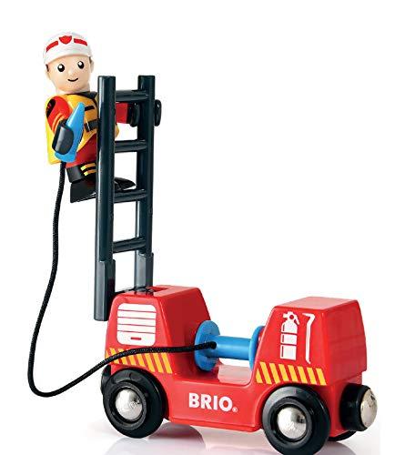 Set trenuleț pompieri, Brio 33815 4