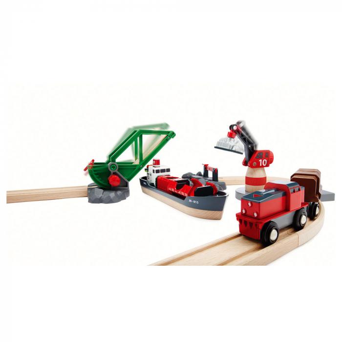 Setul de tren din port, Brio 33061 2