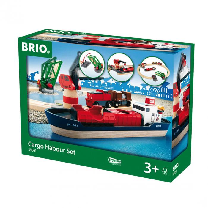 Setul de tren din port, Brio 33061 1