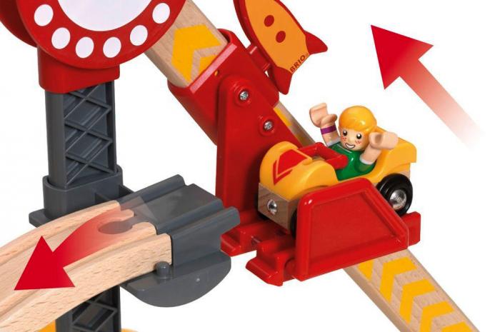 Set Roller Coaster – Montagnes Russes, Brio 33730 5