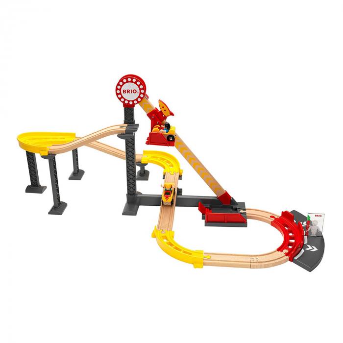Set Roller Coaster – Montagnes Russes, Brio 33730 0