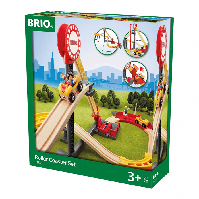 Set Roller Coaster – Montagnes Russes, Brio 33730 1