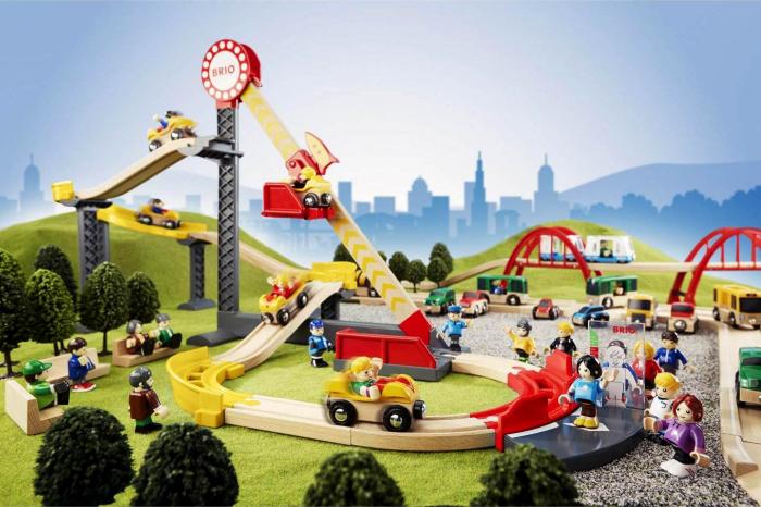 Set Roller Coaster – Montagnes Russes, Brio 33730 10