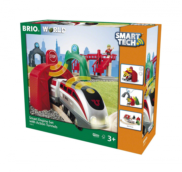 Smart Tech – set inteligent de tunel, Brio 33873 1