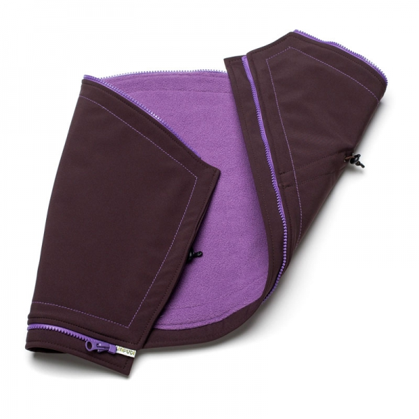 Suport pentru gravide Liliputi® - Brown-purple 0