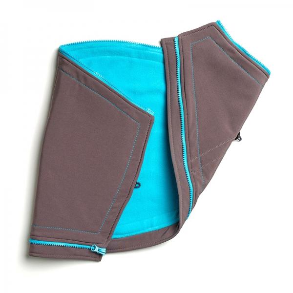 Suport pentru gravide Liliputi® - Grey-turquoise 0