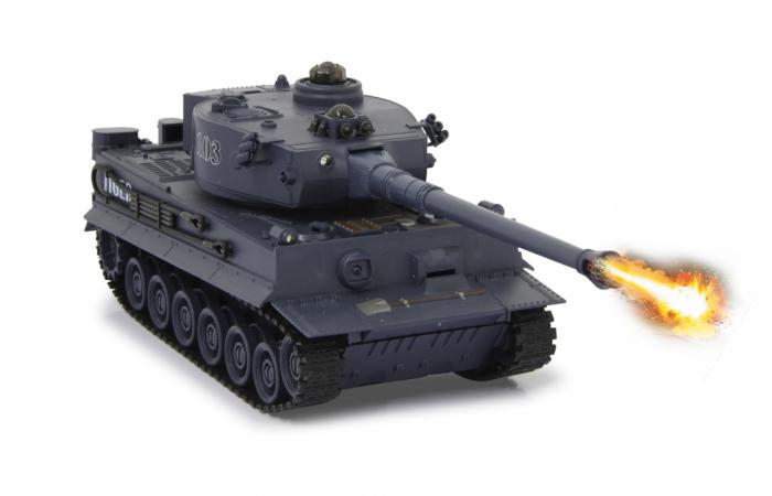 Tancuri cu telecomandă Panzer Tiger Battle 1:28, Jamara 403635 2