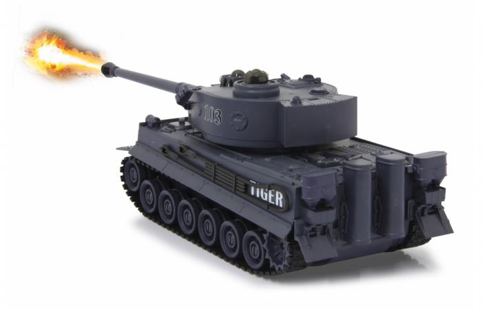 Tancuri cu telecomandă Panzer Tiger Battle 1:28, Jamara 403635 3